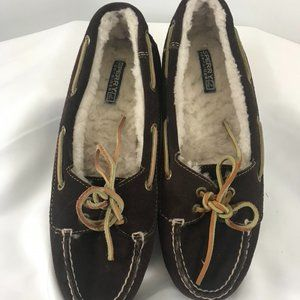 Sperry Top-Sider Sherpa Lined Slippers